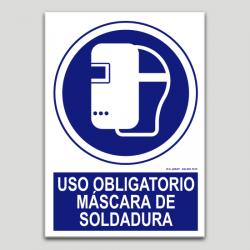 Ús obligatori màscara de soldadura