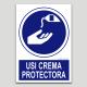 Usar crema protectora