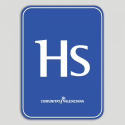 Placa distintiu Hostal - Comunitat Valenciana