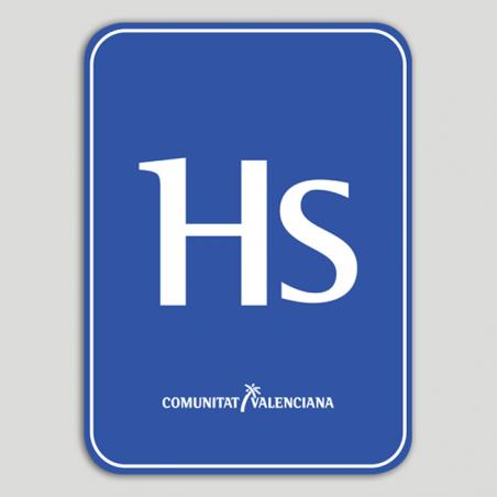 Placa distintivo Hostal - Comunidad Valenciana