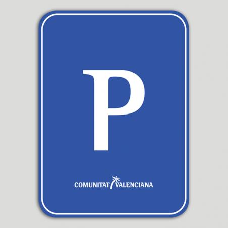Placa distintivo Pensión - Comunidad Valenciana