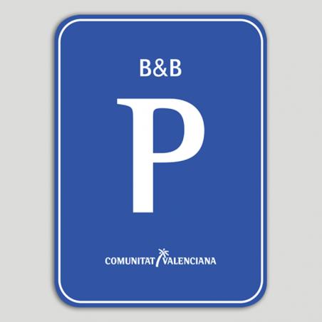 Placa distintivo Pensión B&B - Comunidad Valenciana