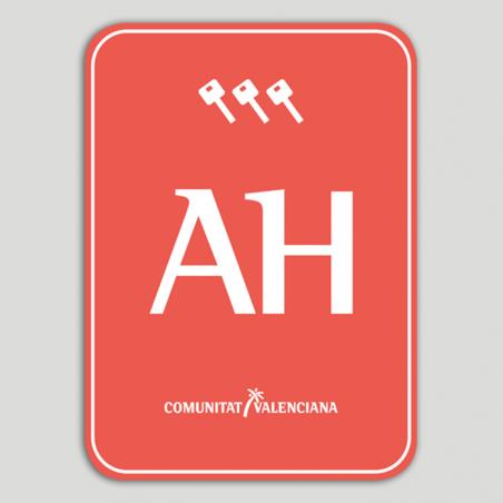 Placa distintivo Apartotel tres llaves - Comunidad Valenciana