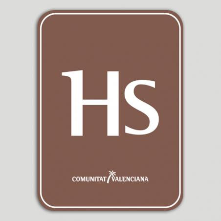 Placa distintivo Hostal Rural - Comunidad Valenciana