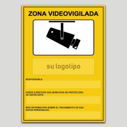 Zona Videovigilada Personalizable