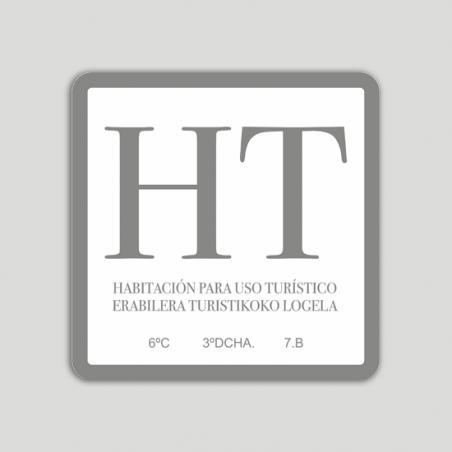 Placa vivienda e uso turístico - Euskadi
