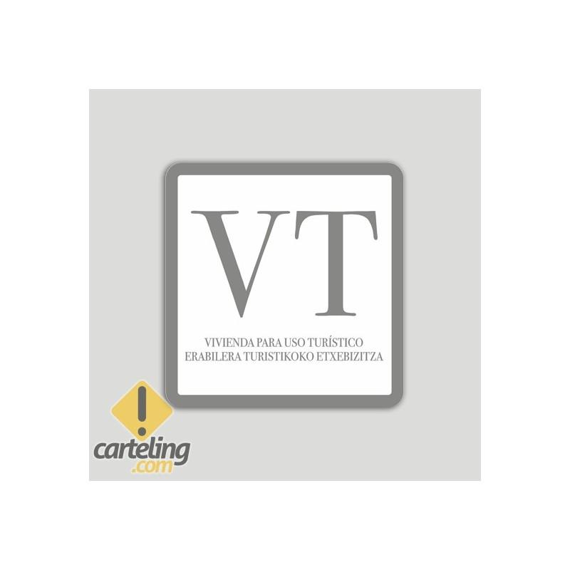 Placa interior de vivienda de uso turístico VT - Euskadi