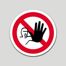 Alto no pasar (pictograma)