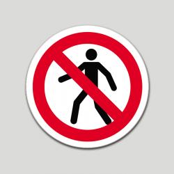 Prohibido el paso (pictograma)