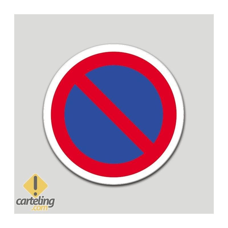 Prohibit aparcar (pictograma)