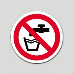 Aigua no potable (pictograma)