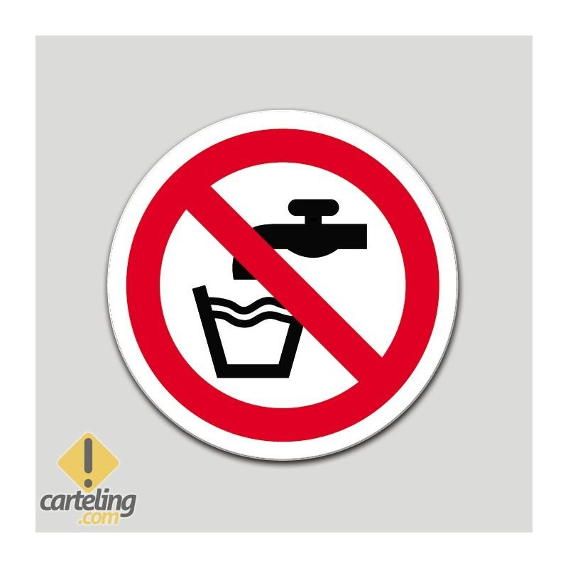 Agua no potable (pictograma)