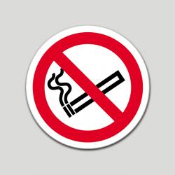 Prohibido fumar (pictograma) (10 etiquetas)