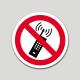 Prohibit l'ús de telèfons mòbils (pictograma)