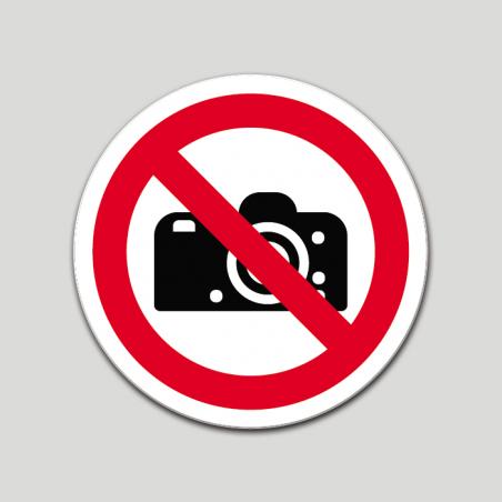 Prohibit fer fotos (pictograma)