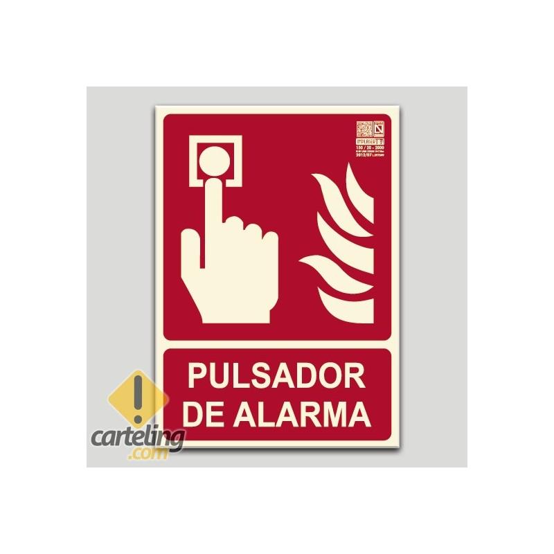 Pulsador de alarma (en español)