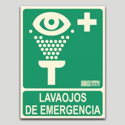 Lavaojos de emergencia