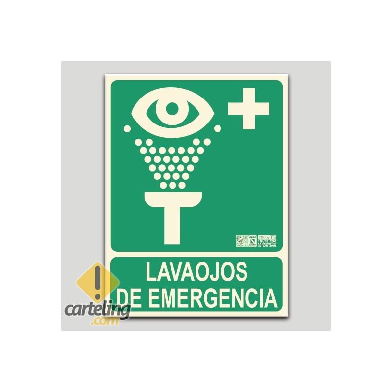Lavaojos de emergencia (en español)