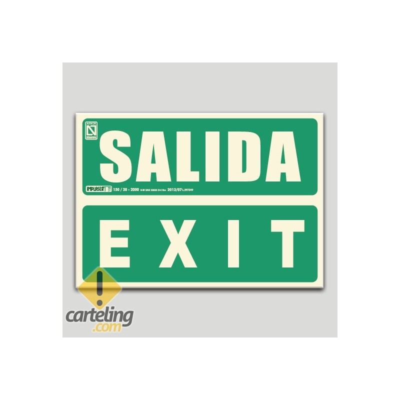 Salida - Exit