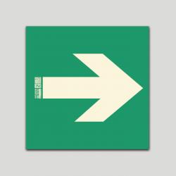 Flecha - Vía de evacuación