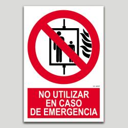 No utilitzeu en cas d'emergència