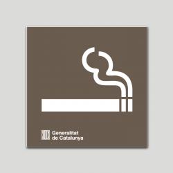Zona o espacio habilitado para fumar - Cataluña