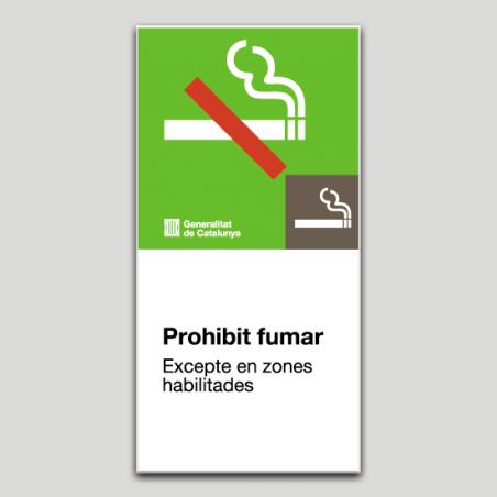 Prohibit fumar - Catalunya