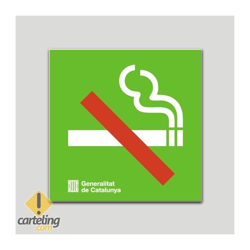 Prohibido fumar - Cataluña