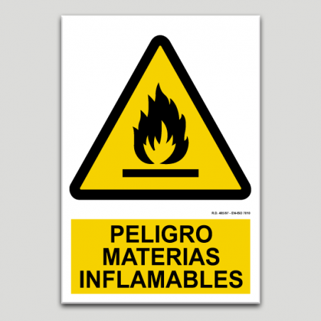 Perill materials inflamables