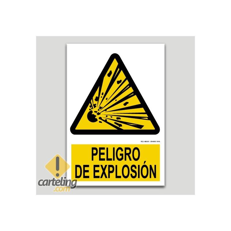 Peligro de explosión