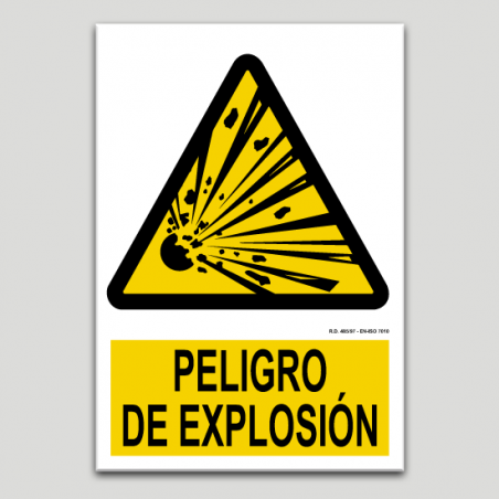 Perill d'explosió