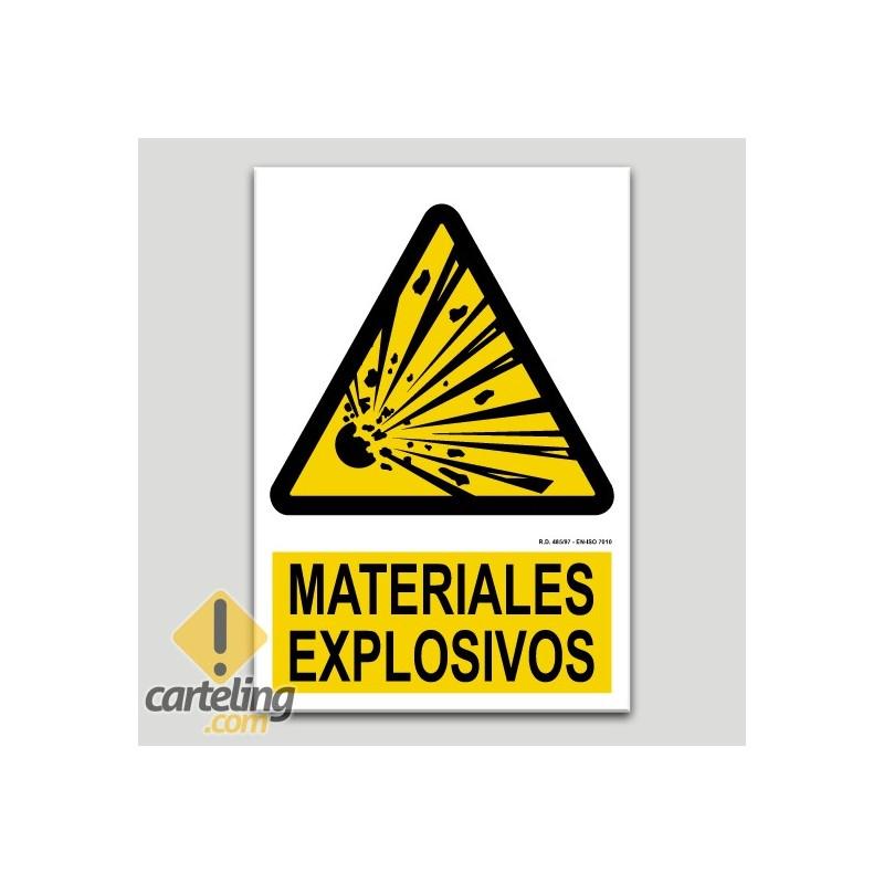 Materials explosius