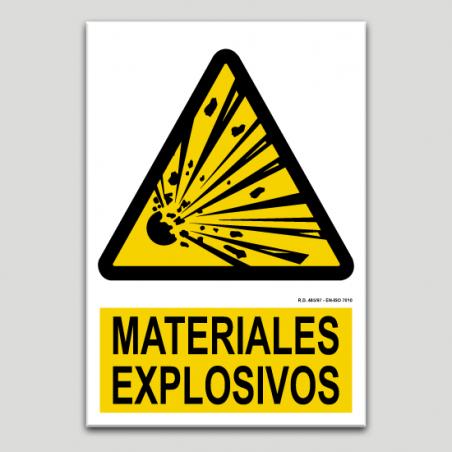 Materiales explosivos