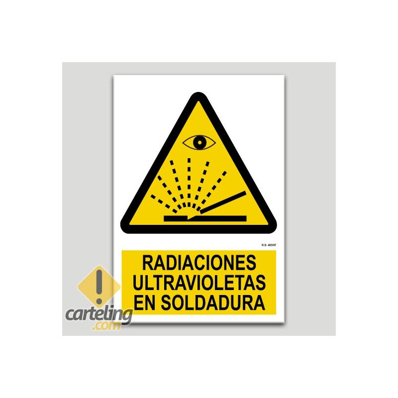 Radiacions ultraviolats en soldadura