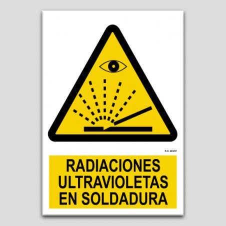 Radiaciones ultravioletas en soldadura