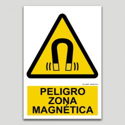 Peligro, zona magnética