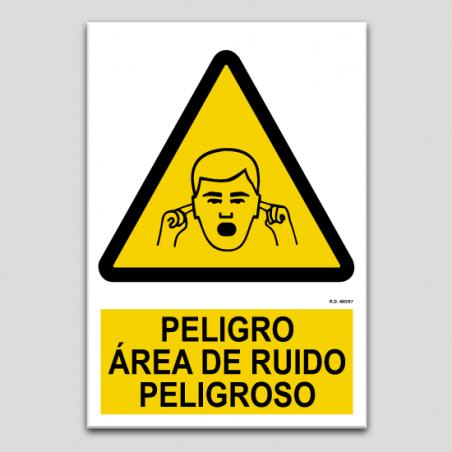 Perill, àrea de soroll perillós