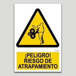 Peligro, riesgo de atrapamiento
