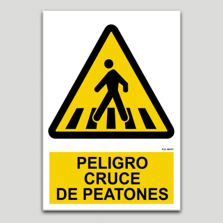 Perill, creuement de vianants