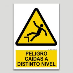 Perill, caiguda a diferent nivell