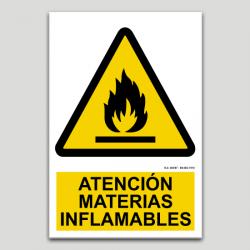 Atención materias inflamables