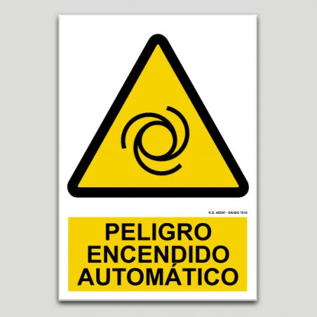 Peligro, encendido automático