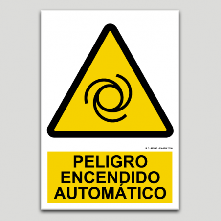 Perill, encès automàtic