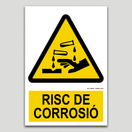 Riesgo de corrosión