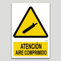 Atenció, aire comprimit