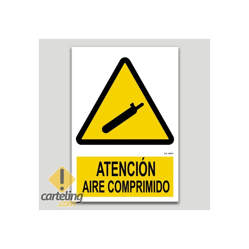 Atención, aire comprimido