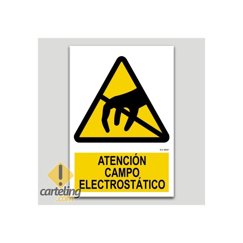 Atenció camp electroestàtic