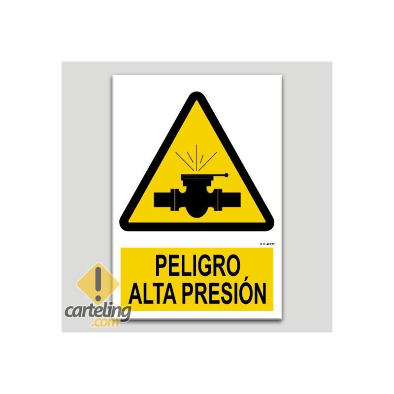 Perill alta pressió