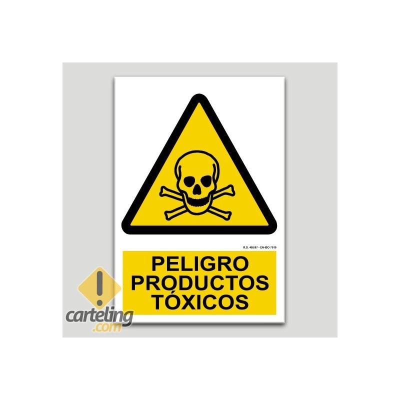 Peligro productos tóxicos