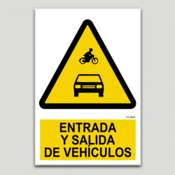 Entrada y salida de vehículos